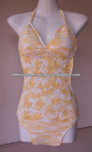Cotton crocheted lady summer swimwear