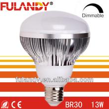 LED 13-Watt (65 Watt) BR30 Indoor Soft White (2700K) Flood LED Light Bulb, Dimmable