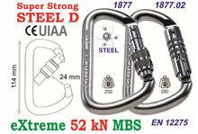 C.A.M.P. Super Strong Steel-D Screw Gate Art# 1877