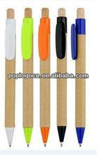 Degradable&Retractable Paper Barrel Ball Pen