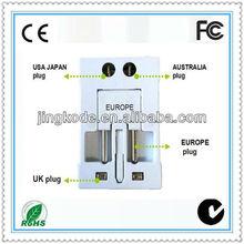 World Standards Universal Travel Smart Adapter Plug& socket usb plug adaptor 13 amp
