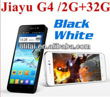 In stock JIAYU G4 Android Phone MTK6589 Quad Core 1.2G Android 4.1 4.7' OGS Ultra border Unlocked