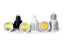 Black/white/silver cob led spot light led spotlights gu10 4w led spotlight rechargeable
