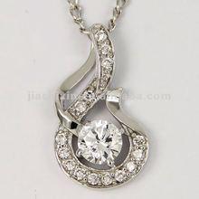 Hot crane pendant control in silver