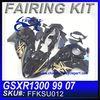 FOR Suzuki For Hayabusa GSXR1300 99 07 motorcycle Fairing kit FFKSU012