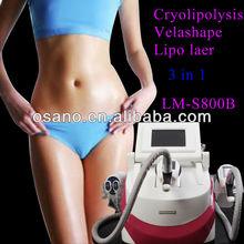 Hot!!! velashape slimming instrument for fat reduction