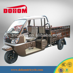 Semi-cabin cargo motorcycle three wheel motorcycle for cargo