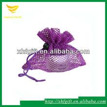 Cheap Sheer Mesh Drawstring Gift Bags