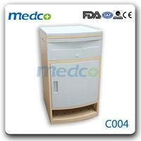 Light blue ABS Bedside Hospital Cabinet