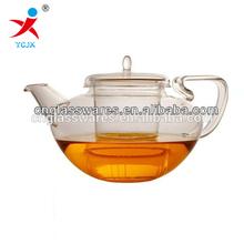 pyrex glass teapot with infuser/coffee tea set/blooming tea pot