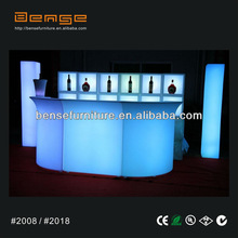 2012 LED snake bar counter and straight bar counter