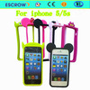 New drop resistance silicone rim mobile case cell phone case for iphone 5