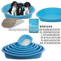2015 hot sale plastic pet bed