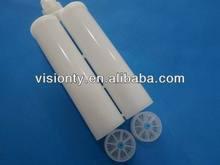 200ml empty silicone sealant plastic cartridge/empty glue cartridge