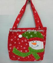 2014 wholesale custom father Christmas gift bag