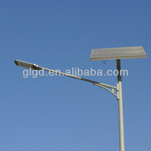 China 56w street light with pad solar/ outdoor solar LED street lighting and pole(GLC-PP)