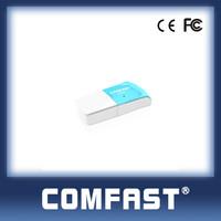 802.11g Alfa High Power Wifi Dongle 300Mbps Wifi USB Adapter Realtek 8192 COMFAST CF-WU825N