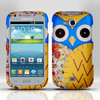 Unique Blue OWL Phone Case for SAMSUNG GALAXY ADMIRE 2 II SCH-R830C