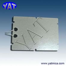 muscovite/ phlogopite mica etched foil heater
