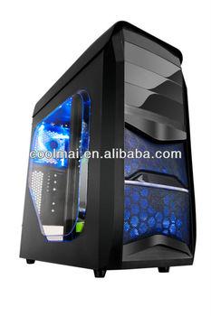 Unique ATX Cooling gamer computer case