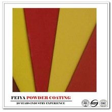 yellow and red car parts powder coating paint