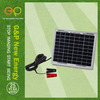 G&P 12V Solar Car Battery Charger 10W Portable solar Panel Camping Power