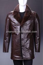 2014 Style Fashion Black Winter Fur Coat