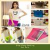 PVC Christmas Gift Bag for iPad Paking