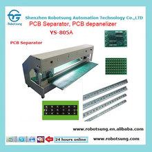 Circular blade moving V-cut PCB separator/PCB depanelizer