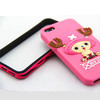 Super quality nice production3d cartoon phone case popular cartoon cases(LH-2027)