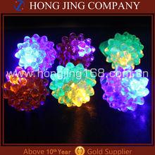 Strawberry Led Jelly Ring, Led Flashing Jelly Rings, China Wholesale Led Flashing Jelly Ring