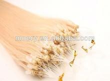 Virgin Remy Human Brazilian Micro Loop Hair Extensions
