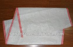 white PP woven bag sack 55x100cm polypropylene woven bag PP woven sack