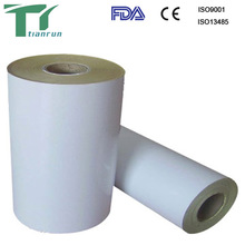 medical dialyzed paper and multi-ply transparent composite film
