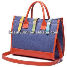 2013 New elegant Lady handbags sweet lovely style bags for girl designer Canvas hand bag 2 color