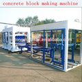 Qt6-15 automatique presse hydraulique machines de briques, Cendres volantes brique machines