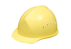 ABS Non-Composite Material Safety Helmet for Construction Equipment Rich Color Variation Made in Japan
