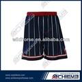 sublimación profesional del baloncesto encargo shorts para mujeres