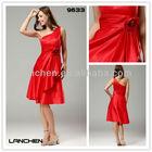9633 Bridal Satin Custom Made Party Dresses