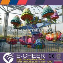 outdoor playground amusement park rides clap night light