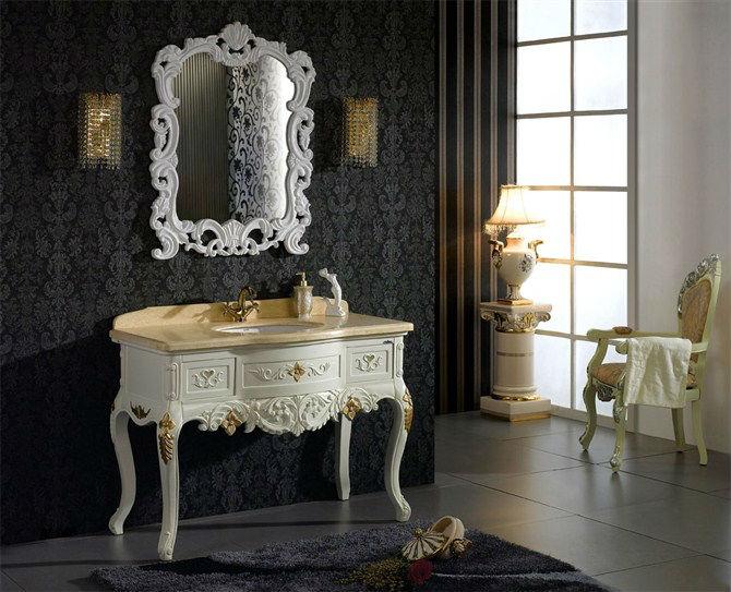 フリースタンディングアンティーク洗面化粧台