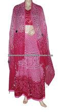 Plus size lehenga choli dress