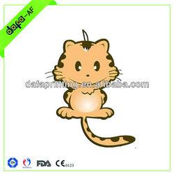 toilet auto air freshener car air freshenGood Scented Advertising cat design Hanging Car Animal Car Air Freshener