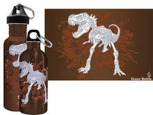Green Bottle - Dino Bones
