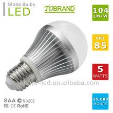104lm/W CRI>85 EMC LVD approved navigation led bulbs