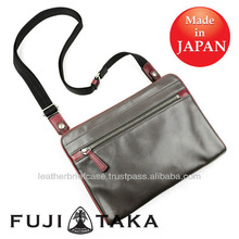Luxury Leather Goods - Clutch and Sling Bag made in Japan FUJITAKA | 41212