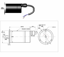 DC-Motor with permanent magnets