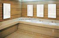 Modern and Fashion artificial stone L shape bathroom vanity tops