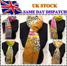 Designed Fashional Ladies Leopard Print Soft Scarf Shawl Wrap