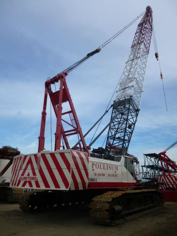 Sumitomo LS 238 RH-5: 100T Crawler Crane At Very Good Price (Used)